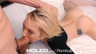 HOLED – Petite Dakota Skye Spreads Her Tiny Asshole For Anal