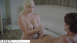 Vixen.com Naughty Blonde fucks her sisters man to make her jealous  reverse-cowgirl cowgirl rimming kylie-page doggystyle facial ass licking riding cheating vixen blonde blowjob