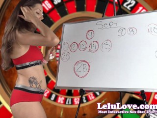 Lelu Love-September 2016 Cum Schedule
