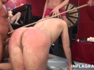 She likes cock as no one else and she plays with her tight pussy till she g