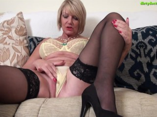 Secretary MILF Amy Strips off and plays after a Hard Day at Work