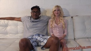 smallest chick takes 12 inch biggest black cock!  interracialpass big-cock piper-perri blonde skinny young blackzilla tiny-girl petite dredd teenager small girll massive massive cock