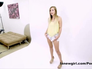 TEEN FUCKED IN THE ASS AT PHOTOSHOOT AUDITION CASTING