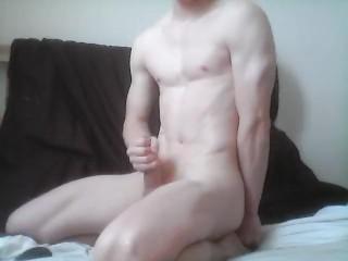 Young boy solo masturbation