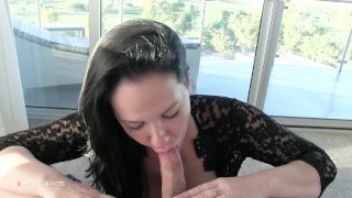 Big Tits GF Gets A Gooey Creampie Before the Concert