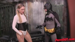 Riley Reyes + Lance Hart Make Silly Porn COSPLAY FEMDOM PEGGING CREAMPIES  creampie eating lance hart hot boss femdom strapon pegging cum inside femdom blonde pantyhose kink butt shiny pantyhose riley reyes leotard cosplay fucking batman sweet femdom