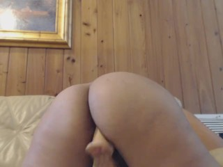 queen gets off watching porn doggystyle pt 2