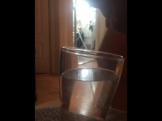Another load in water glass