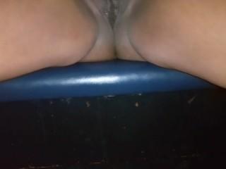Public Pussy Flash masturbation