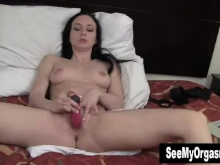 Tempting Ivy Fuck Dildo For Orgasm