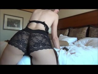 Desperate Cougar Humping