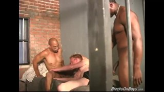 Preview 6 of White guy gets fucked in the prison by blacks