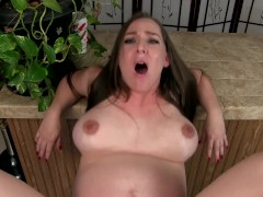 Preggo Mommy Kristi - You Can't Leave Your Mother - Mommy Son Fauxcest Tabo