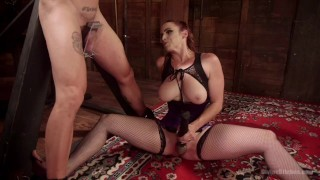 Bella Rossi Femdom  redhead pegging toys femdom divinebitches milf fishnet kink big tits divine bitches dungeon bdsm bondage cuckold foot worship stockings