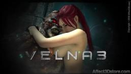 Amusteven's Velna 3 Trailer - Release 9/24/16 - Monster Fucks Hot Red Head
