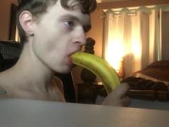 Deep Throating Banana