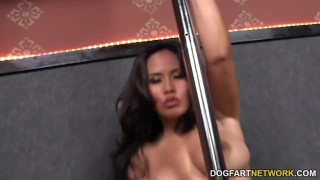 Jessica Bangkok sucks black cocks through Gloryhole  big black cock big ass big tits asian blowjob gloryhole pornstar fetish busty hardcore interracial dogfartnetwork butt deepthroat big boobs glory hole
