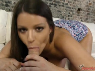 MILF Brooklyn Chase Sucking in POV
