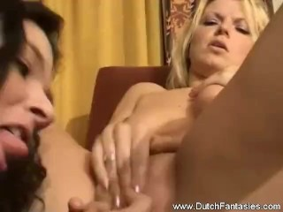 Interracial Threesome Dutch Fuck