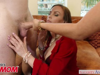 Marsha May & MILF Diamond Foxxx fuck & suck in a threesome Naughty America