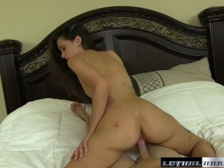 Gia gets her thick ass massaged and fucked hard