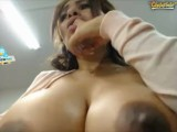 Nice Young DD'S on Web Cam