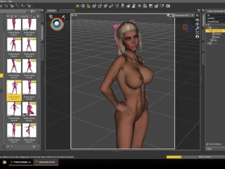 Affect3D Tutorial Series: Daz 3D Posing Controls - Learn to make 3D Porn