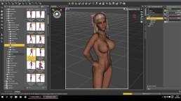 Affect3D Tutorial Series: Daz 3D Posing Controls - Learn to make 3D Porn
