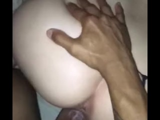 Daddie loves making this pussy talk to him