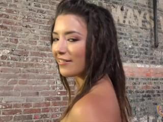 Teen Daisy Haze Jerking Off a Cock