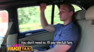 FemaleFakeTaxi Businessman strikes sexual deal with horny driver  taxi oral-sex pussy-licking hd sexy car-sex amateur blowjob cumshot hardcore cab cowgirl orgasm femalefaketaxi