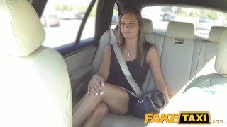 FakeTaxi Cute customer with natural tits faketaxi blowjob prague big-cock hot babe shaved spycam cock-sucking creampie car outside oral camera point-of-view czech
