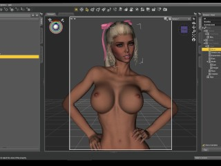 Affect3D Tutorial Series: Daz 3D Facial Expressions and Hair