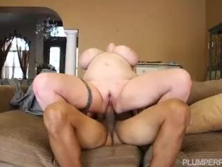 Big Tit Plumper Kamille Amora Rides A Big Fat Cock