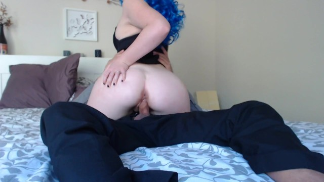 Emmarae rides dick cream pie pulsing orgasm pawg red head 1