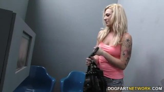 Dahlia Sky Does Anal at Gloryhole  big black cock ass fuck blonde gloryhole pornstar cumshot hardcore kink interracial dogfartnetwork brunette gagging deepthroat glory hole natural tits ass to mouth anal