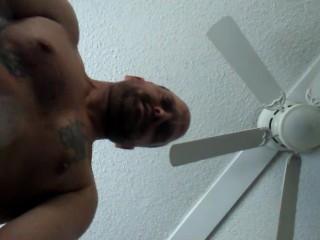 Big cumshot after strokin my cock