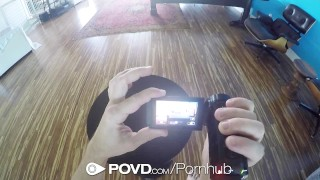 Preview 3 of POVD - Petite redhead with fat pussy Dolly Little fucked in sex tape