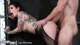 JoannaAngel Slaying Ass in Fishnets