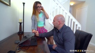 Brazzers - Naughty teen Sally Squirt takes big cock small ass brunnette young riding teen shaved brunette small-boobs brazzers skinny daughter booty teenager petite