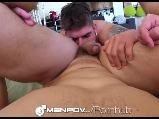 MenPOV - Brenner Bolton Fucked POV by Caleb Troy