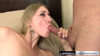 Preview 4 of Riley stretches her ass out to take a big cock