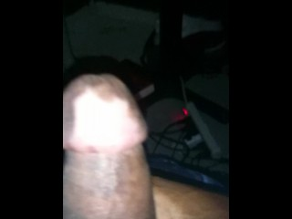 jacking the strangest dick youve ever seen with intense cum shot(BBWC)
