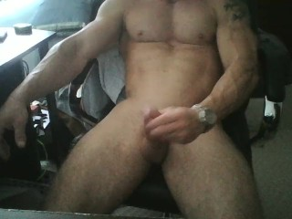 dick and muscles