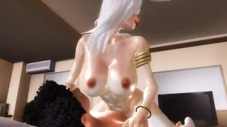 Living With An Angel - 01  girl on top 3d hentai point of view riding hentai femdom pov anime angel 3d cowgirl straddle tk17 60fps
