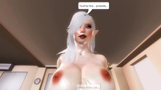 Living With An Angel - 01  3d hentai point of view riding hentai femdom pov anime angel 3d cowgirl 60fps straddle tk17 girl on top