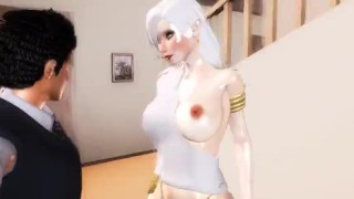 Living With An Angel - 01  girl on top point of view 3d hentai riding hentai femdom pov anime angel 3d cowgirl 60fps straddle tk17