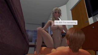 Cute Specter - 01 3d hentai straddle femdom point of view riding blonde tk17 hentai 3d girl on top pov cowgirl anime 60fps