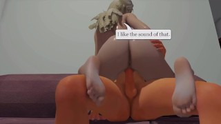 Cute Specter - 01  girl on top 3d hentai point of view riding hentai femdom blonde pov anime 3d cowgirl 60fps straddle tk17