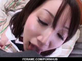 Shizuku Morino loves cock in her fatty pussy and mouth